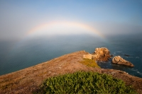 Chimney Rock Rainbow