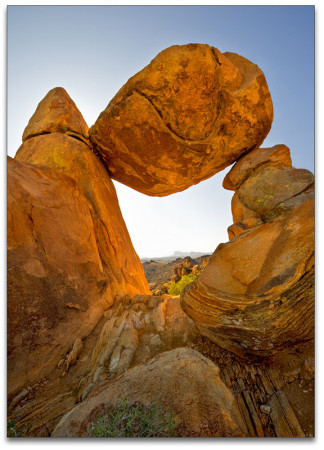 Balanced Rock by Gary Larsen