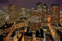 Boston from Custom House